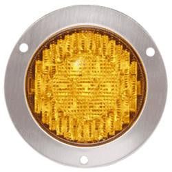 Light - Round Flange LED Warning Light 4.5""