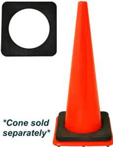 Base - 7# Base for Traffic Cones