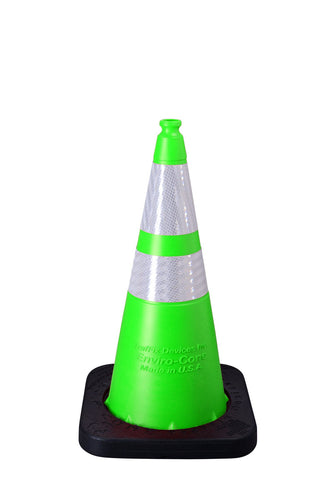 "Cone - 28"" Collared - LIME - 7lb"