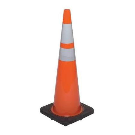 "Cone - 36"" Black Base Collared"