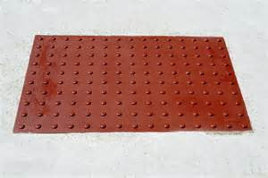 Pad - ADA 2 X 4 Brick Red Composite