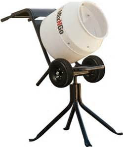 Mixer - Mix N Go Portable Concrete Mixer Steel Drum Gas Powered