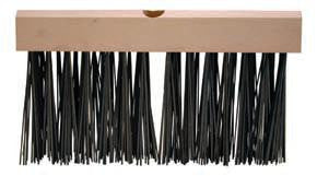 Brush - Flat Steel Wire Floor Brush