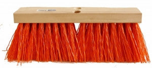 Brush - OSHA Orange Plastic Street Broom