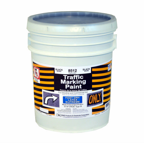 Paint - Fast Dry Latex Supreme Traffic Marking - Black 8512