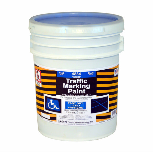 Paint - Fast Dry Latex Traffic Marking - 4834 Blue