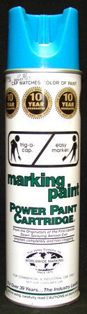 Paint Blue Marker Can