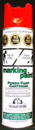 Paint Red Marker Can