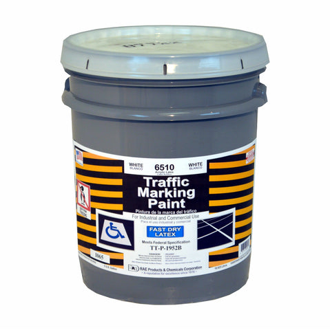 Paint - Fast Dry Latex Traffic Marking - White 6510
