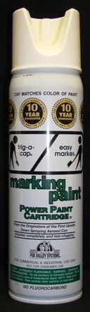Paint White Marker Can