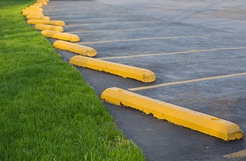 Block -Parking Concrete Yellow