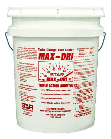 Additive - Max-Dri - Triple Action - Pail