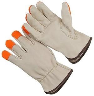 Glove - HI-VIZ Orange Mesh Back Driver