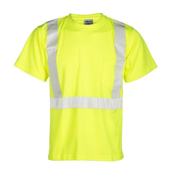 Shirt - Class 2, Ecomomy Serve T-Shirt LIME