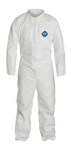 Coveralls - Tyvek 400 with Collar and Zipper Protective Wear