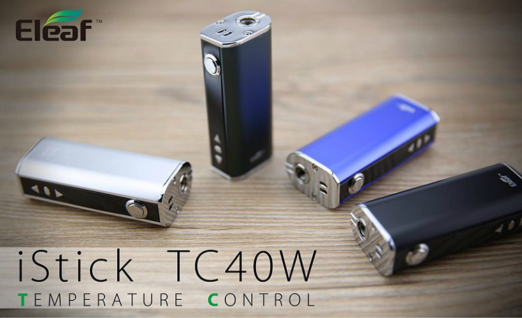 Eleaf 40w TC Mod Review By iStick! - IndoorSmokers
