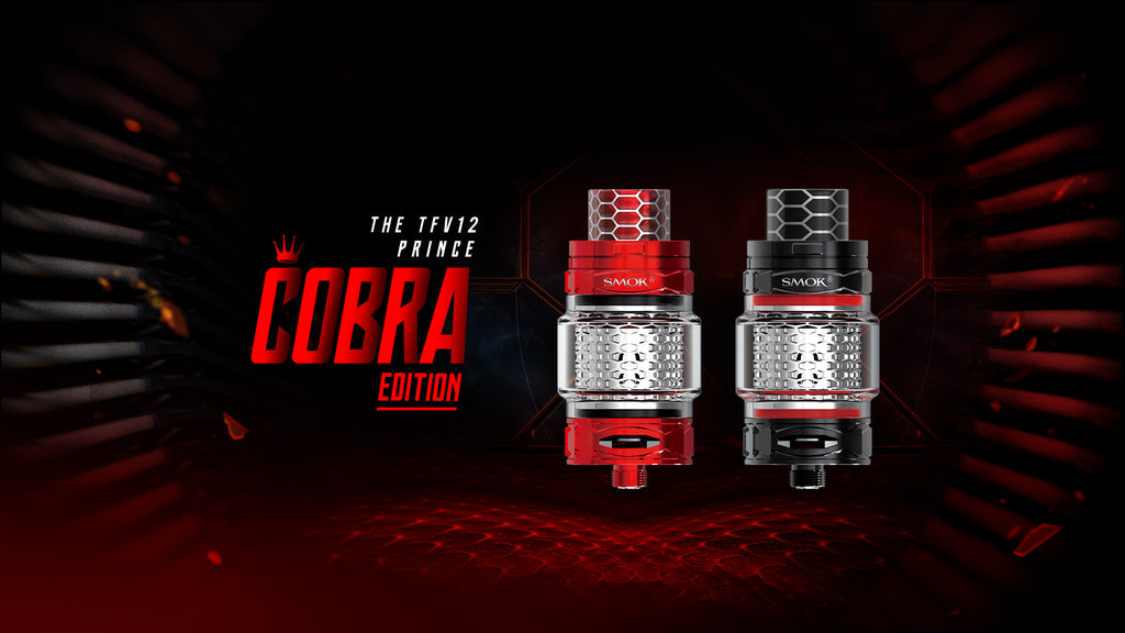 TFV12 PRINCE COBRA EDITION by Smok - Mesh & Strip Coils!