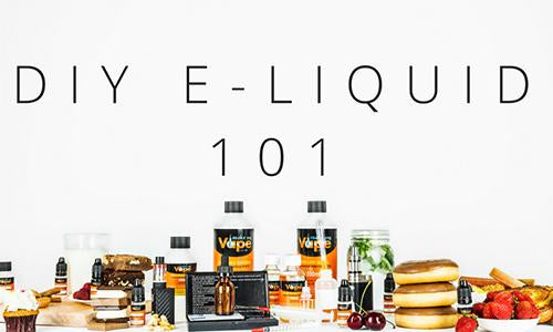 What to dig deeper into E-Liquid DIY?