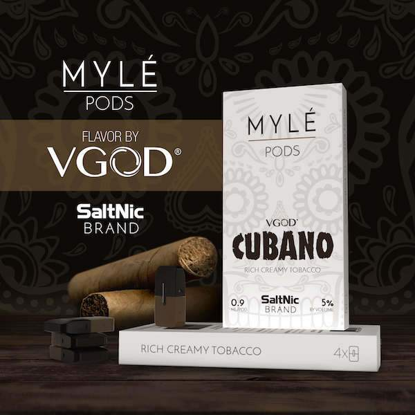 Myle' Device and Nic Salt Pods Review