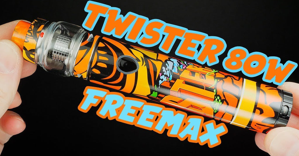 Vaping On A Budget! AWESOME Vape Stick Kit! The Twister 80W By Freemax!