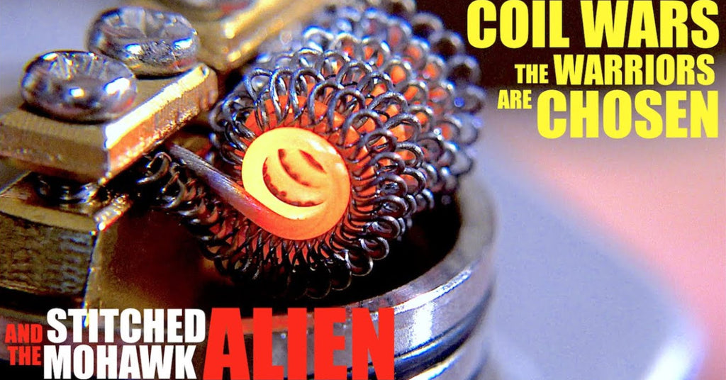 COIL WARS - Meet the Warriors - How to Build a Stitched Mohawk Alien Coil