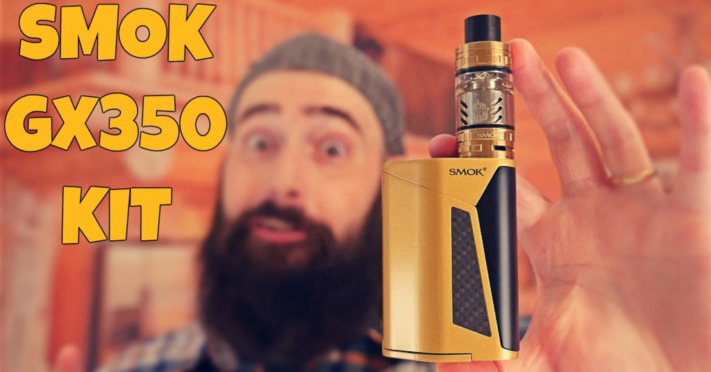 SMOK GX 350 Quad 18650 CLOUD BEAST Vape Kit Review