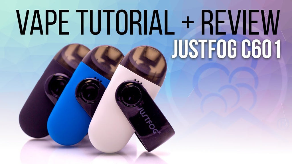 C601 Justfog Pod Vape Tutorial + Review - Mt Baker Vapor