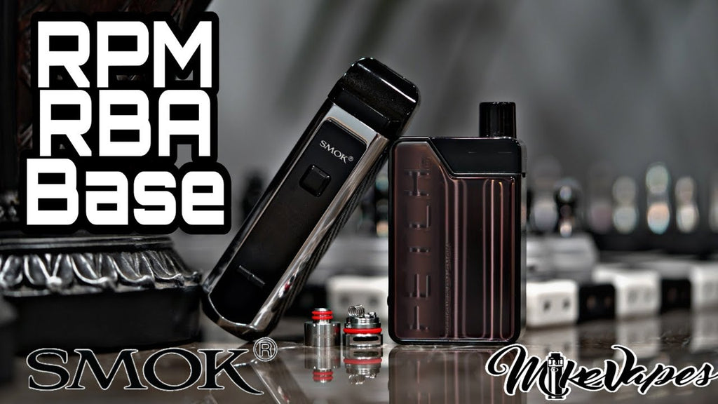 Smok RBA Base for the RPM40 & Fetch!