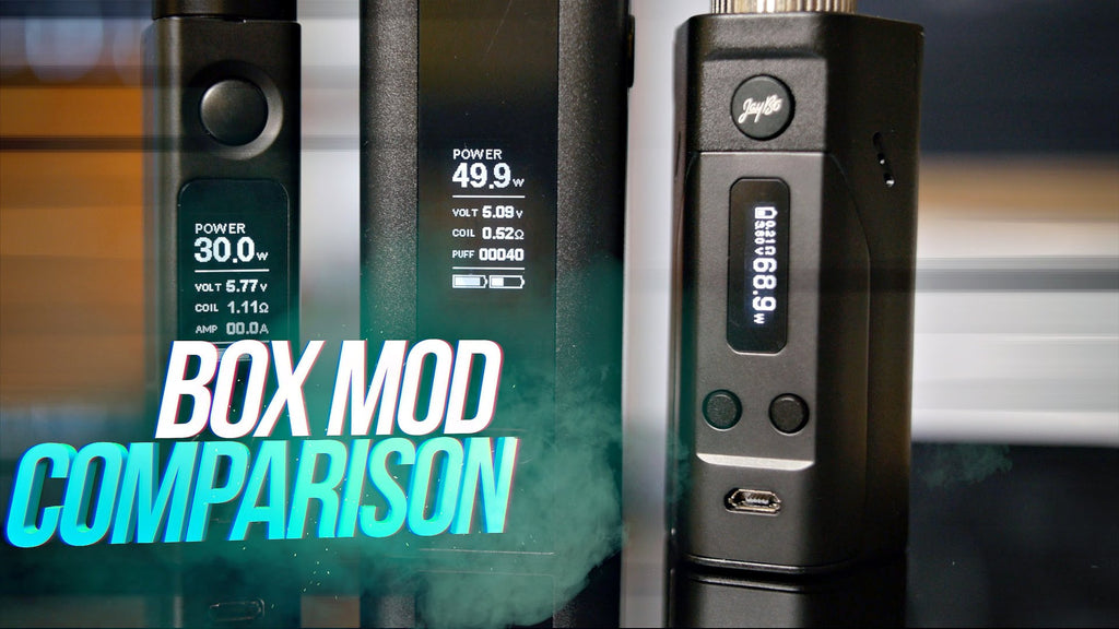 Reuleaux DNA200 vs RX200! ~ Wismec