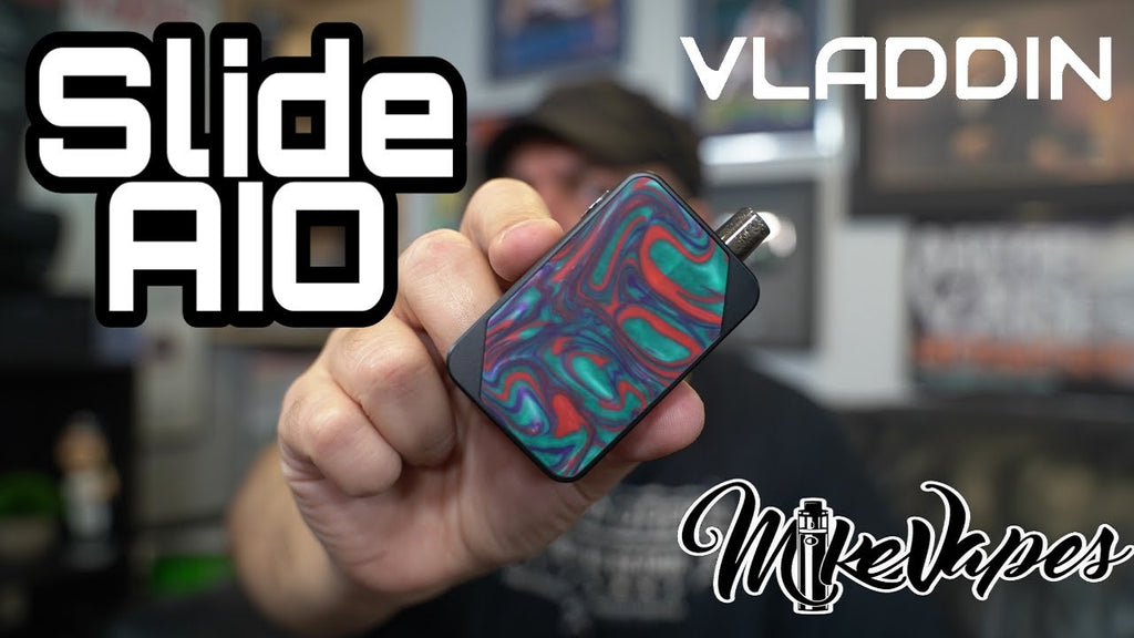 Review of the Vladdin Slide AIO - An MTL Pod Mod