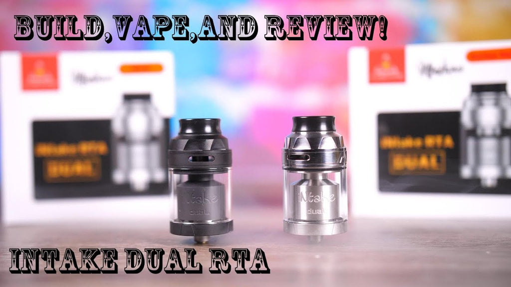 Build, Vape and Review of the Intake Dual RTA!