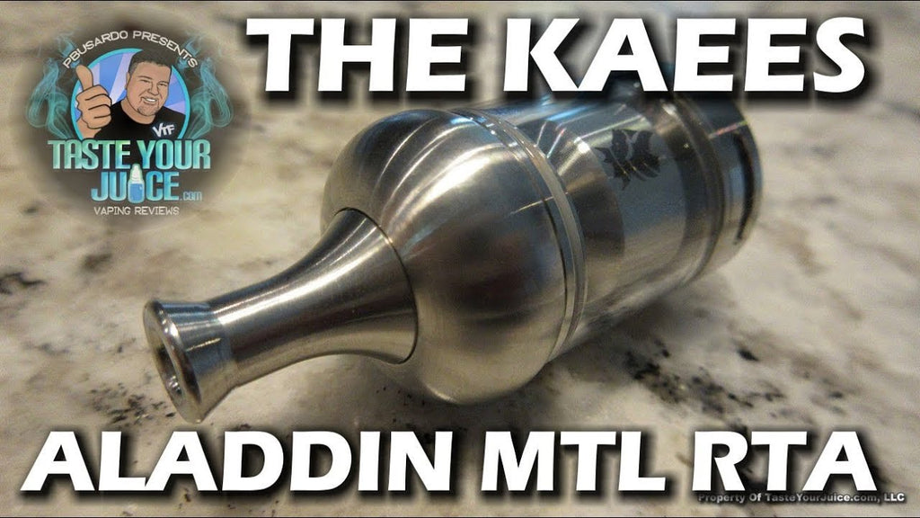 PBusardo Reviews the Cost Effective KAEES Aladdin MTL RTA