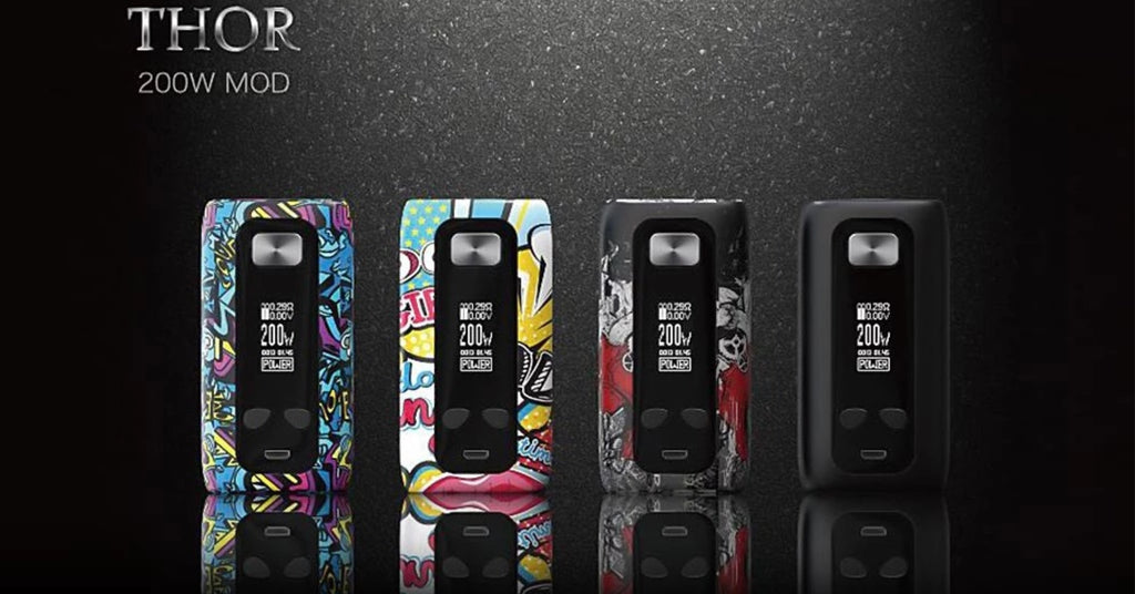 THOR 200W TC MOD by Thinkvape - Full Review