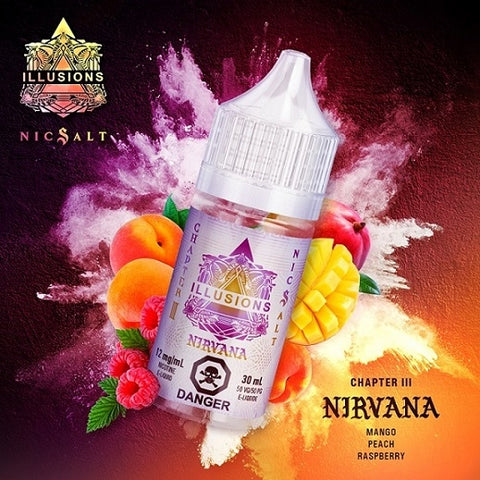 Nirvana NicSalts - Illusions Vapor