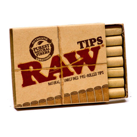 Pre-Rolled Tips - Raw