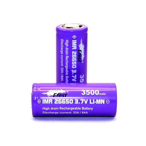 IMR 26650 Rechargeable Battery - Efest