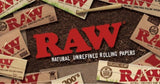 King Size Slim Rolling Papers - RAW