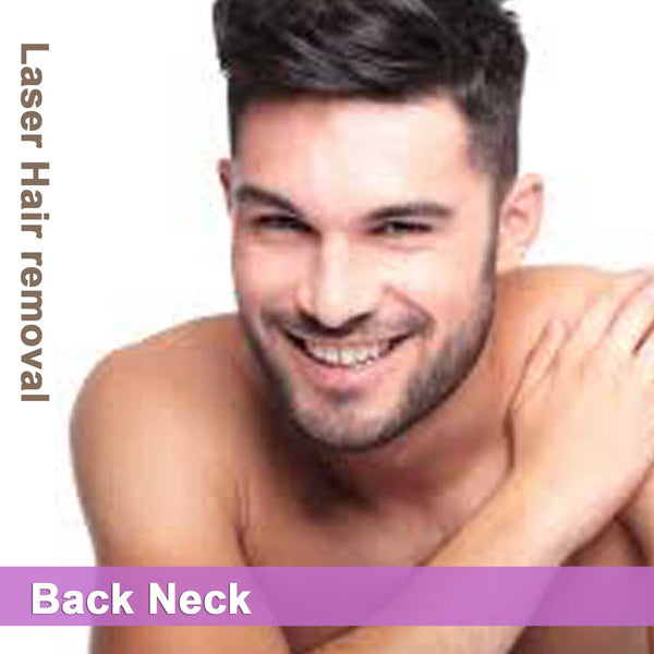 Back Neck - Laser Hair Removal for Men