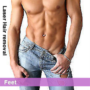 Feet - Laser Hair Removal for Men