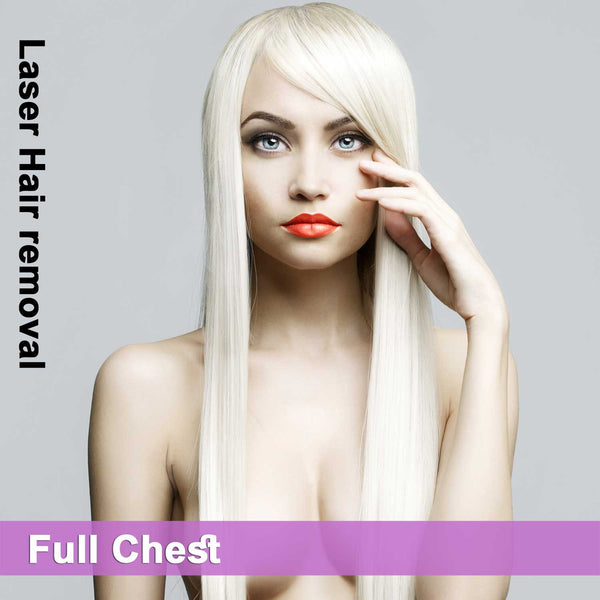 Full Chest - Laser Hair Removal for Women
