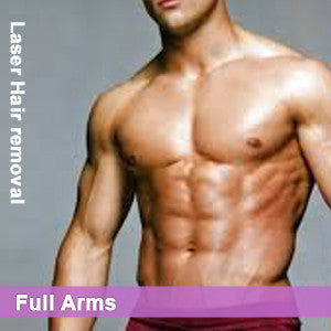 Full Arms - Laser Hair Removal for Men