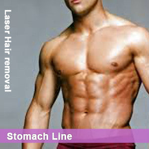 Stomach Line - Laser Hair Removal for Men