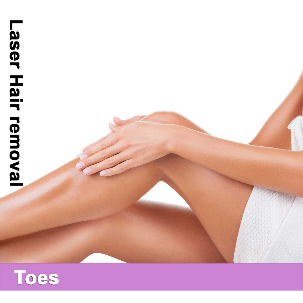 Toes - Laser Hair Removal for Women