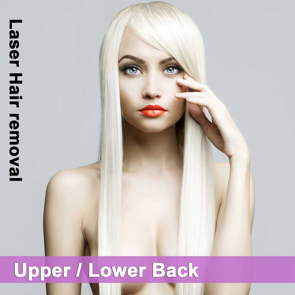Upper / Lower Back - Laser Hair Removal for Women