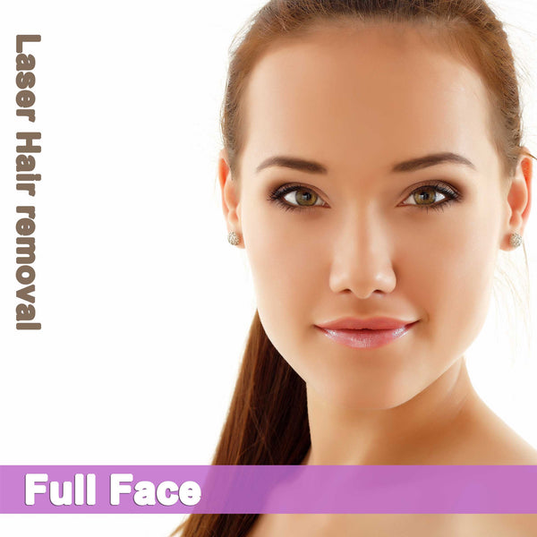 Full Face - Laser Hair Removal for Women