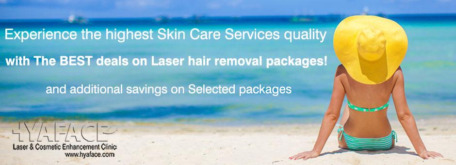 The BEST deals on Laser hair removal packages