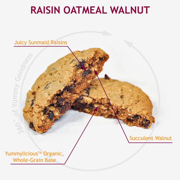 RAISIN OATMEAL WALNUT