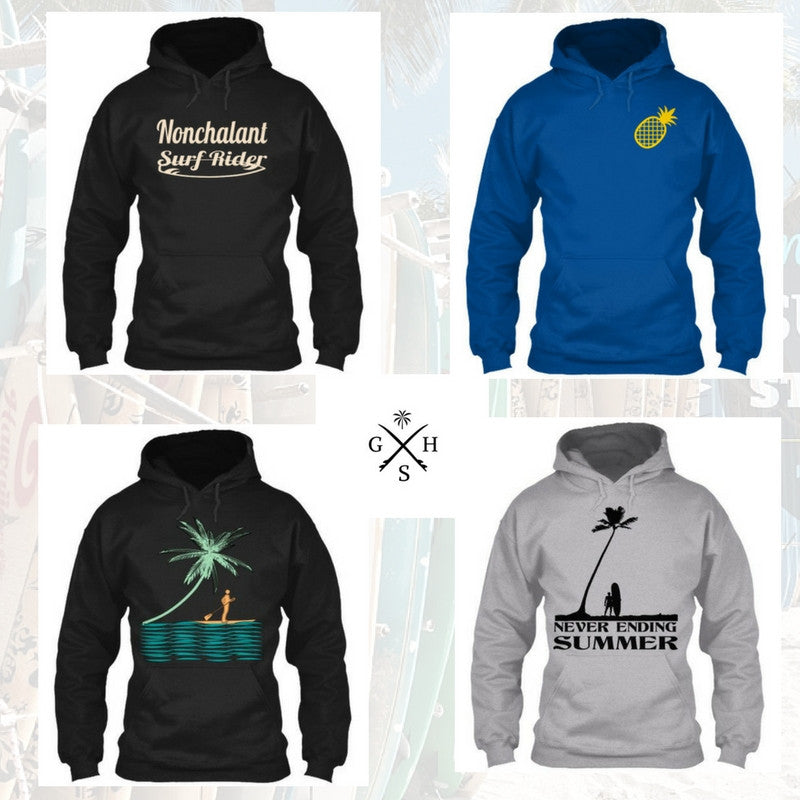 Your Favorite Exclusive Surf Designs Are Now Available in Hoodies for Men and Women