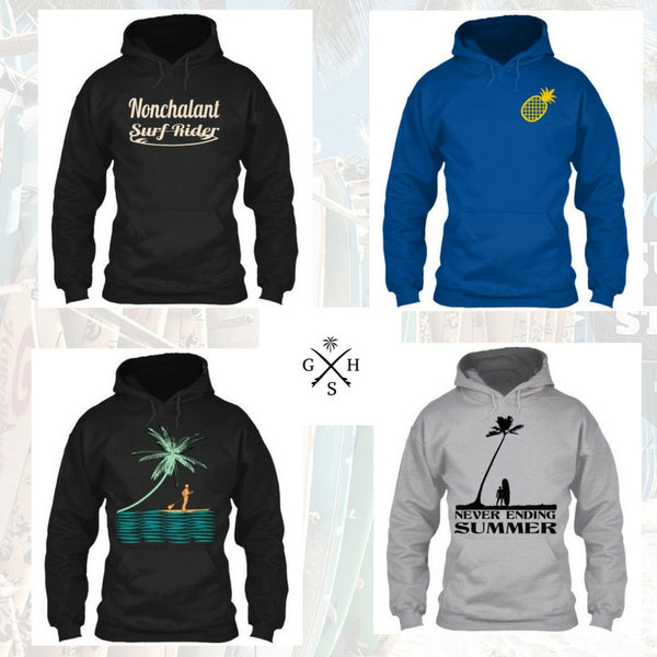 Exclusive Surf Hoodies for Men and Women