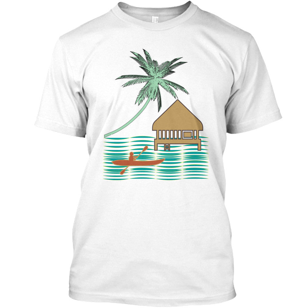 Tahiti Bora Bora Men's Kayak Shirt